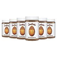 Cinnamon Almond Butter by Justin's, No Stir, Gluten-free, Non-GMO, Responsibly Sourced, 6 Jars (16oz each)