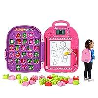 LeapFrog 伴我 ABC 背包,粉色
