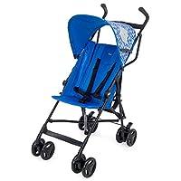 意大利 Chicco 智高 Snappy轻便婴儿推车 可折叠伞车(彩蓝色)(适合6个月-3岁宝宝 防滑手柄 一键双刹 可调座椅角度  随车配防雨罩)