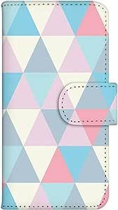 智能手机壳 手册式 对应全部机型 印刷手册 cw-120top 套 手册 几何图案 UV印刷 壳WN-PR055577-ML SH-M02-EVA20 图案D