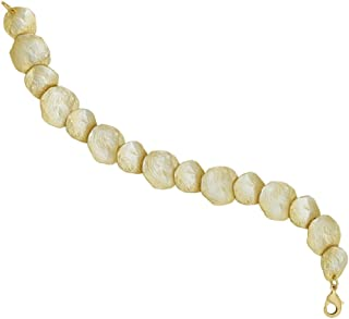 """Petite La Mer""手链由 Michael Michaud 设计,适合银色季节."