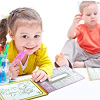 YOUR MOON 儿童水画册 场景临摹涂鸦本画本 反复使用 intimate系列 (动物)(具体介绍看视频)