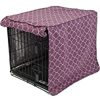 molly mutt Royals Crate Cover, Purple, Huge