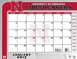 Perfect Timing - Turner 2013 Nebraska Cornhuskers 桌面日历,55.88 x 43.18 cm (8061160)