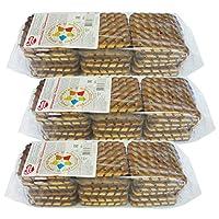 4袋 甜蜜农庄 俄罗斯进口 饼干 330g 早餐饼干 休闲零食 … (黑巧克力夹心饼干)