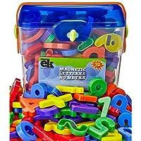 EduKid Toys 磁性字母和数字套装 72 个 Canister