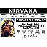 Signs 4 Fun NROIDK2 Kurt Cobain's Driver's 许可证