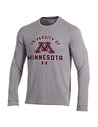 Under Armour NCAA 男士华夫格针织长袖 T 恤