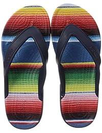 Crocs 卡骆驰 凉鞋 经典 2.0 条纹 翻转