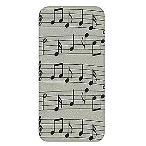 智能手机壳 TPU 印刷 对应多种机型 cw-651top 套 音符 音符标志 音乐 UV印刷 软壳WN-PR368112 AQUOS Compact SH-02H 图案 A