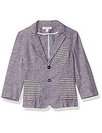 Isaac Mizrahi 男童拼色亚麻外套