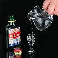 【6壶6杯12件套】青苹果 夜宴爵士系列白酒杯烈酒杯送分酒器组合(12件套)
