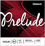 D'Addario 达达里奥 Prelude 低张力 4/4 小提琴套弦(J810 4