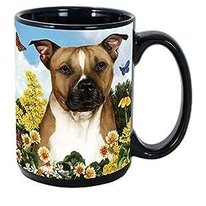 Imprints Plus 犬种 (E-P) 425.24ml 咖啡杯捆绑装不可转让 K-Nine Cash (french bulldog 078) Pit Bull GP GB 125