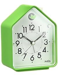 Seiko clock (精工表) 自然声音闹钟模拟可替换式报警器 Pyxis (ピクシス) 绿色