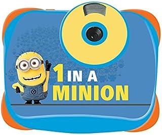 Lexibook 通用 Despicable Me Minions 5MP 数码相机,LCD 屏幕,视频和网络摄像头功能,电池供电,黄色/蓝色,DJ136DES