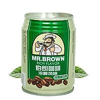 伯朗咖啡 浓醇风味咖啡饮料 3合1即饮品 240ml/罐