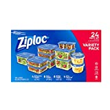 Ziploc 食品存储盒(带盖) 24 Pc Set 24