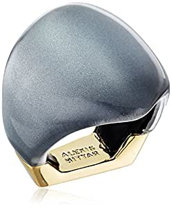 Alexis bittar 不对称方块戒指 Cool Grey Clear - 070 8