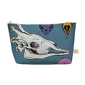 "Kess InHouse 整装包,锥形袋,Sophy Tuttle""Skulls"",21.59 x 10.16 cm (ST1003AEP03)"