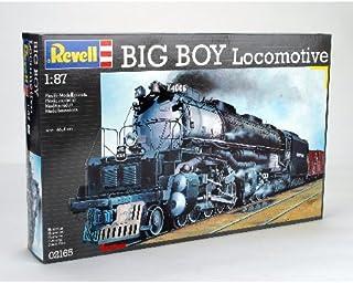 Revell H0 Big Boy Lokomotive 模型套件 蒸汽机车带铁轨 1:87,H0铁轨,Level 4,细节复刻,太平洋联合,02165