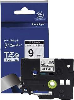 P-TOUCH CUBE 皮带 立方体 层胶带 12mm 9mm 6mm 9mm 透明テープ_黒文字