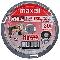 Maxell dvd-rwvcam30 10SP Maxell dvd-rwvcam30 10SP 5PK X 10 件 主轴包