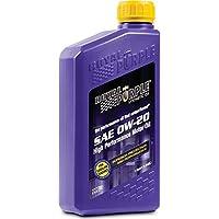 美国进口 Royal Purple 0w-20 SN 紫皇冠 全合成 润滑油 1 Quart 0.946升