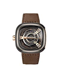 SEVENFRIDAY 瑞士品牌  自动机械男士手表 撞击灵魂 M2-2(亚马逊自营商品, 由供应商配送)