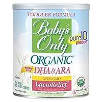 Baby's Only贝欧莱幼儿无乳糖有机配方奶粉 12.7(360.04克)盎司罐装