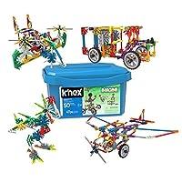 K 'nex – 34366 – Creation Zone 50 , 415件 , 5 Plus , 建筑 - 和 kostru ktions 玩具
