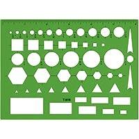 C-Thru All Purpose Plastic Template, Green