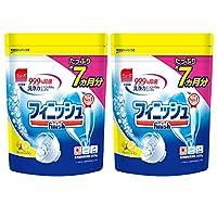 finish 洗碗機清洗劑 粉末狀 替換裝 檸檬味 900g × 2個(約400次的量)