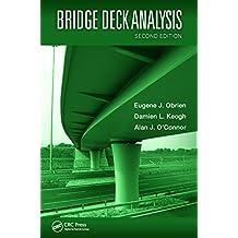 Bridge Deck Analysis (English Edition)