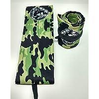 Primitive Performance 布腕带 - 可调节和舒适,适合穿戴、举重、WOD 和力量训练