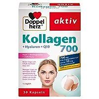 Doppelherz 骨胶原700搭配透明质酸 + Q10 营养补充素  1 x 30 颗 胶囊
