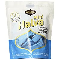 Achva Halva Sugarless Mini Snack Bag, 5.3 Ounce