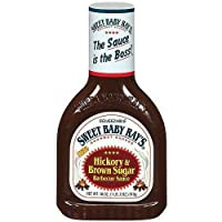 Sweet Baby Ray's 山核桃和棕糖烧烤酱 18 盎司(约 453.6 克)瓶