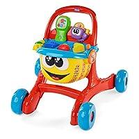 "Chicco 3 合 1 婴儿学步车""快乐购物"",双语,带扫描仪、灯光和声音,适合6个月及以上的儿童"