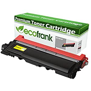 EcoFrank Compatible Toner Cartridge Replacement for TN210Y (Yellow, 1-Pack)