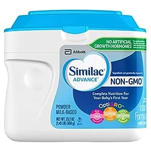 Similac 雅培 Advance Non-GMO 含铁婴儿奶粉,奶粉,23.2盎司/658g(6罐)