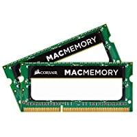 Corsair DDR3 Apple 笔记本电脑 SO-DIMM 内存CMSA8GX3M2A1066C7 8 GB