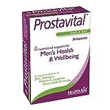 HealthAid Prostavital - Zinc, Selenium, Saw Palmetto - 30 Capsules