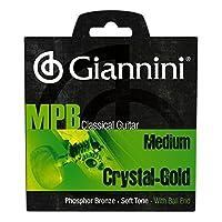 Giannini GENWG MPB 巴西爵士经典吉他磷铜/水晶尼龙带球端串