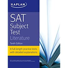 SAT Subject Test Literature (Kaplan Test Prep) (English Edition)