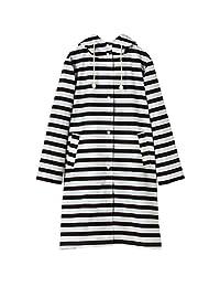 Wpc.雨衣・横条纹连帽衫 黒 R-1103 cm R-1103