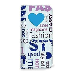 mitas iphone 手机壳318NB-0151-BU/T-01D 28_REGZA Phone (T-01D) 蓝色(无皮带)
