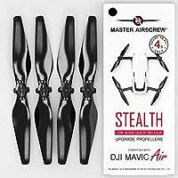 DJI Mavic AIR MAS *螺旋槳,黑色 - 4 個套裝