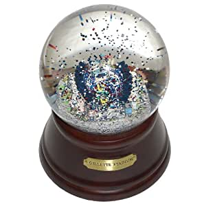 NFL New England Patriots Gillette Stadium Musical Snow Globe