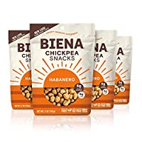 Biena 烤鹰嘴豆小吃,哈瓦那, 20盎司(566克)(4件装)
